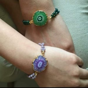 Stone Bracelet for the Couple
