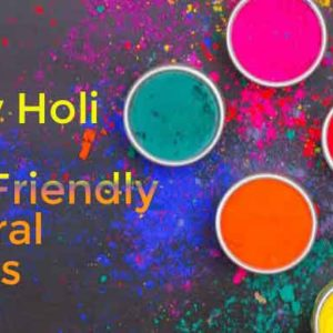 Eco Friendly Holi Colors